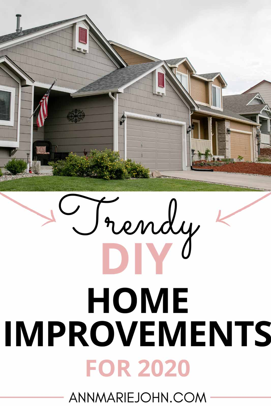 Trendy DIY Home Improvements for 2020