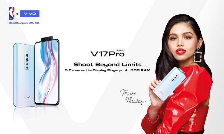 Vivo V17 Pro with Maine Mendoza
