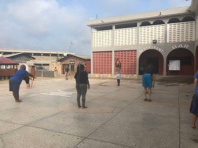 White Dove Hotel. Dzodge. Ghana