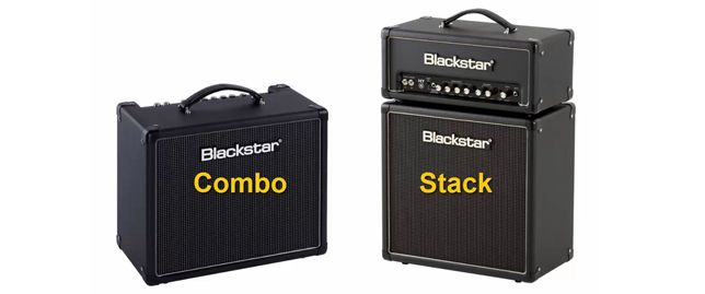 Diferencias entre Amplificadores Combo y Stack para Guitarra Eléctrica