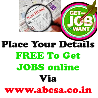 jobs for unemployed, free jobs for abcsa students, vacancies of all over india