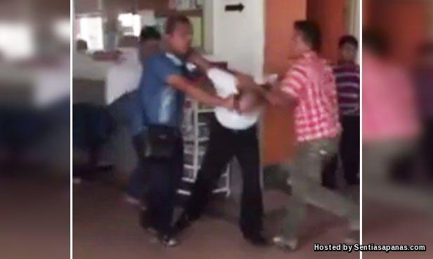 Video Pengawal Keselamatan Dibelasah Viral