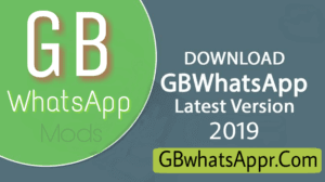Download GBwhatsApp Apk Latest Version 6 95 – (Update 2019