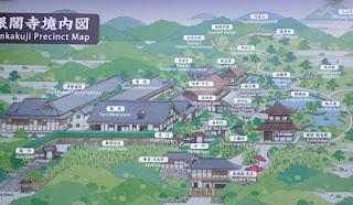 la mappa del complesso