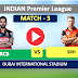 Hyderabad vs Bangalore, 3rd Match: Check the Players , Sunrisers Hyderabad have won the toss and have opted to field