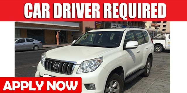 CAR DRIVER REQUIRED