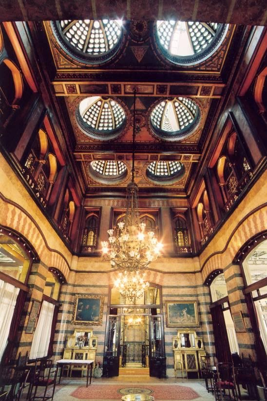 Art And Architecture Mainly Pera Palace Istanbul And The