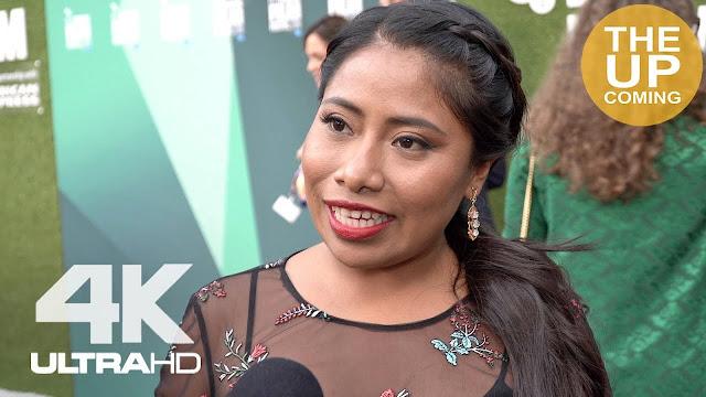 """Con entallado vestido, Yalitza remarca su silueta; """"Es la mexicana mas bella"""", dicen..."""