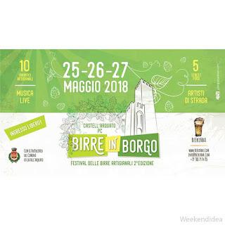 Birre in Borgo 25-26-27 maggio Castell'Arquato (PC)