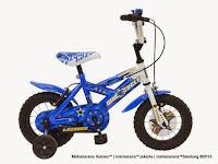 Sepeda Anak Wimcycle Bazooka 12 Inci Army Green