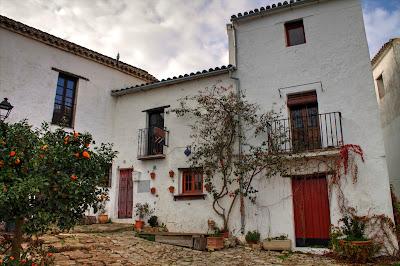 Starodawna andaluzyjska architektura typowa dla tego regionu