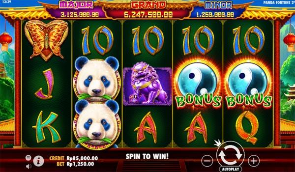 Main Gratis Slot Indonesia - Panda's Fortune 2 Pragmatic Play