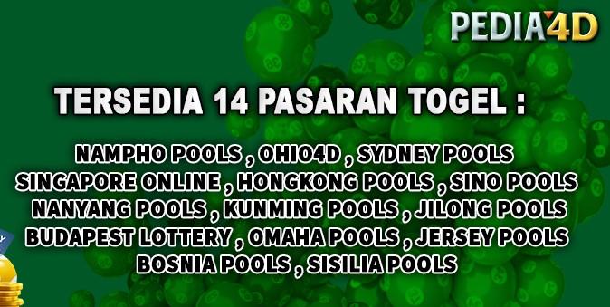 Pasaran Togel Online Di Pedia4D