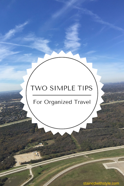 family travel, organization and packing cubes