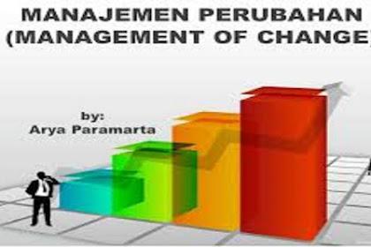 Pengertian Manajemen Perubahan Dan Manfaatnya