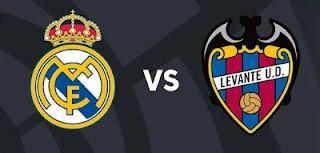 Resultado Levante vs Real Madrid liga 22-8-21