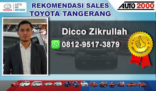 Rekomendasi Sales Toyota Bumi Serpong Damai BSD Tangerang