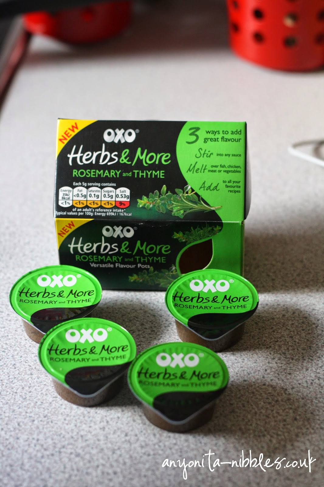OXO Herbs & More Rosemary & Thyme Flavour Pots from Anyonita-Nibbles.co.uk