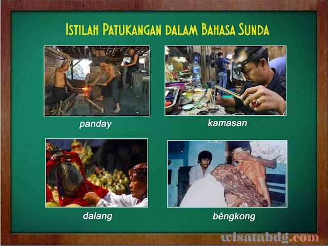 Mengenal Istilah Patukangan Atau Profesi dalam Bahasa Sunda Beserta Artinya