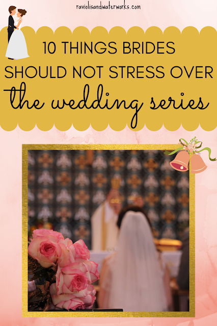 wedding planning items that brides should not have to worry about