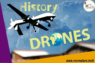 History of Drones : All You Need To Know About it !