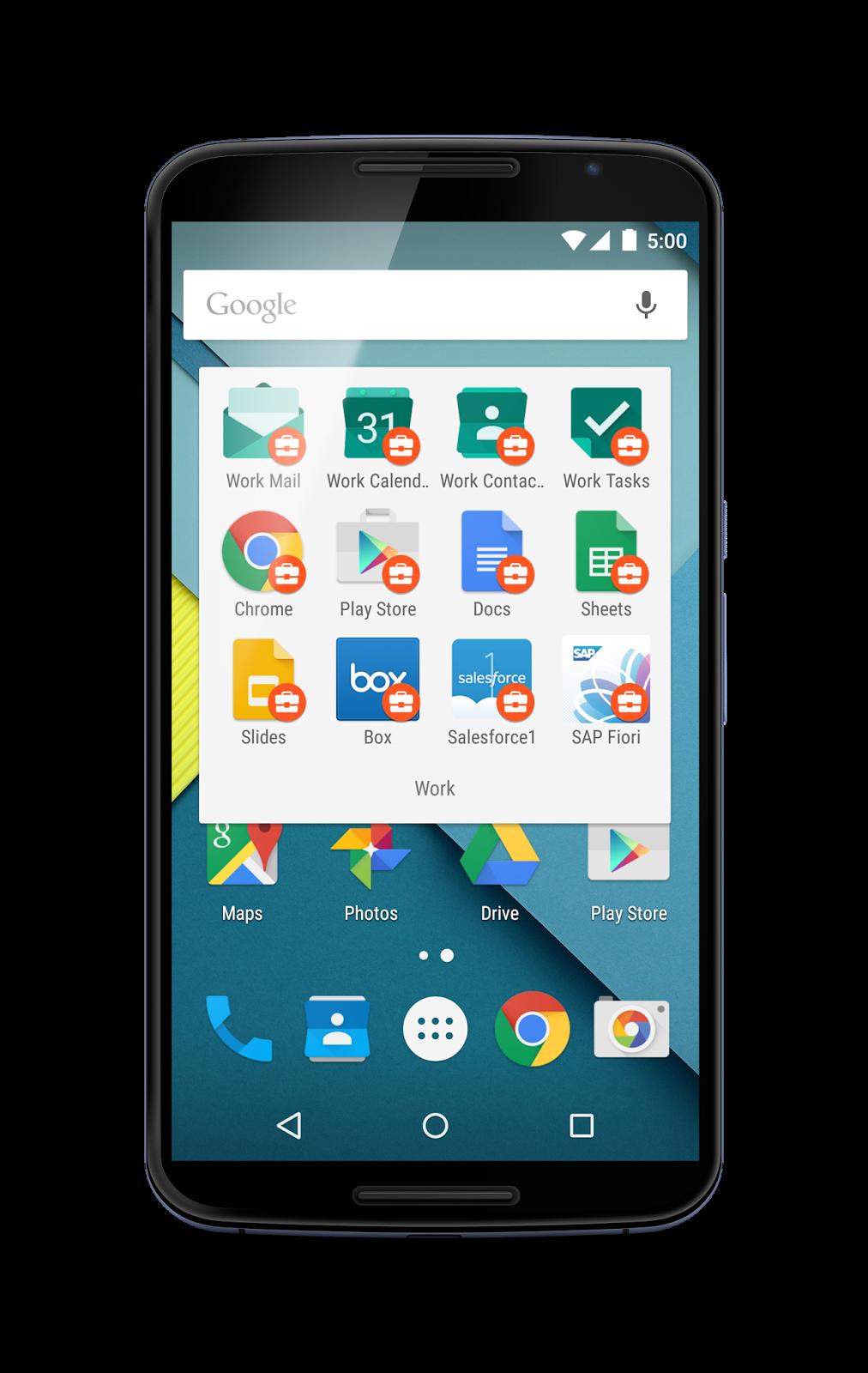 Android for Work anunciado pela Google 2