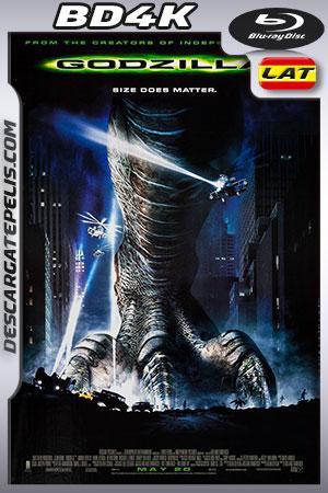 Godzilla 1998 BD4K Latino