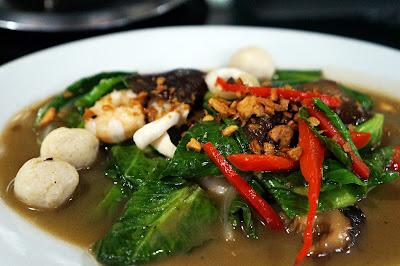Tumis Kailan Seafood Pondok Ale Ale