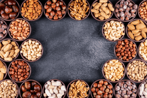 Damage to eating nuts in large quantities