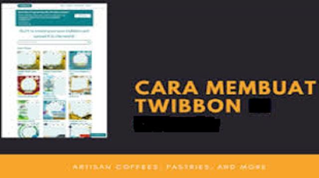 cara membuat twibbon