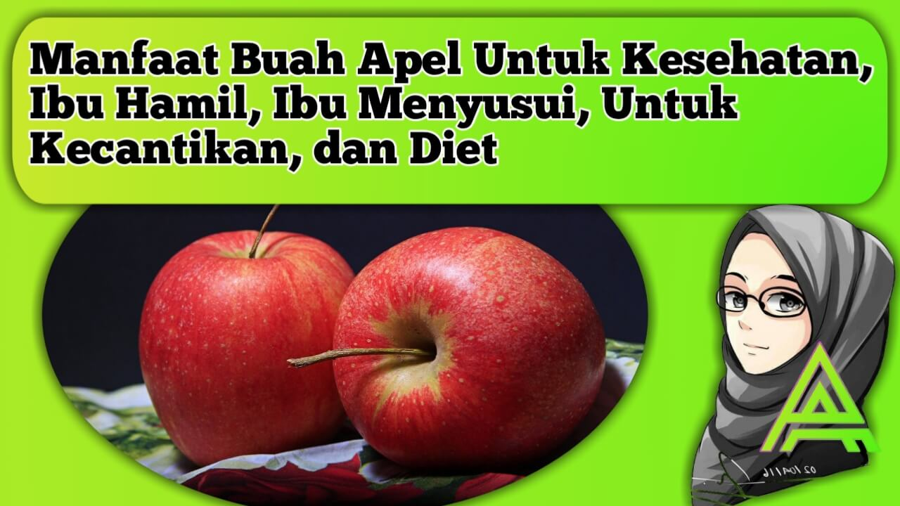 manfaat buah apel, untuk kesehatan, untuk ibu hamil, ibu menyusui, untuk kecantikan,dan diet