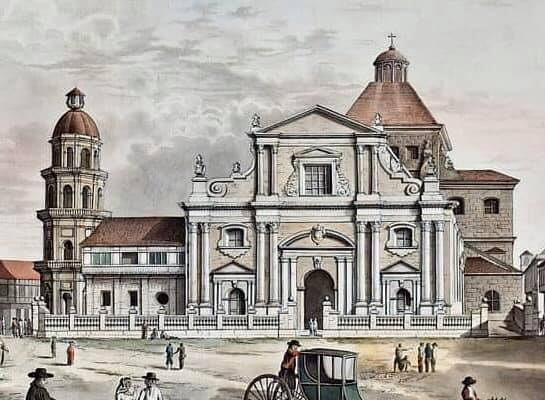 Manila Cathedral Structure