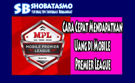 Cara Mendapatkan Uang di Mobile Premier League
