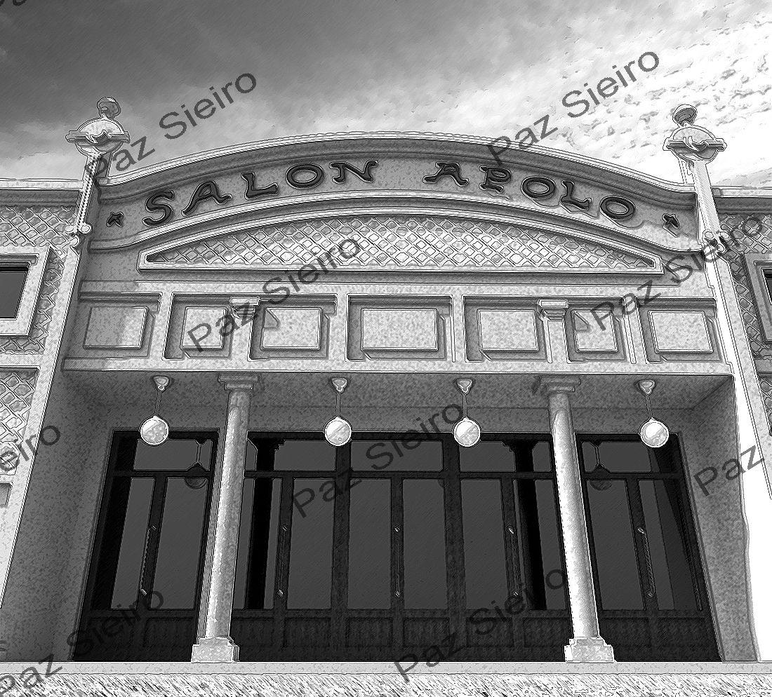 Works 3d edificio sal n apolo 1916 r a do paseo - Arquitectos ourense ...