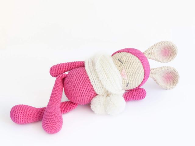 amigurumi-conejo-dormilon-sleepy-bunny-crochet