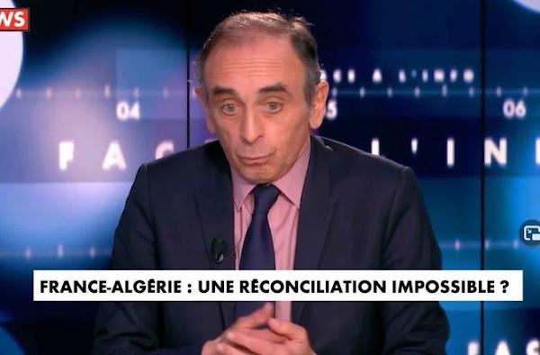 Eric Zemmour fustige : les Arabes sont les plus grands colonisateurs de l'Algérie