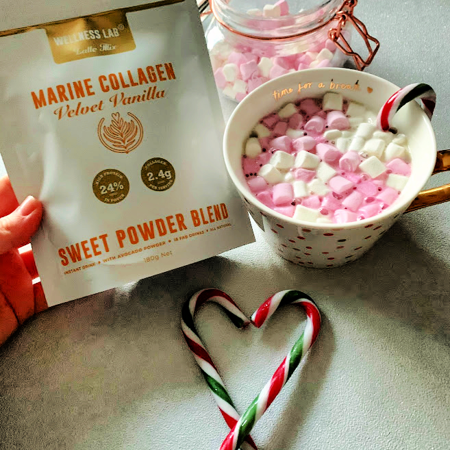 White Peppermint Hot Chocolate | Wellness Lab Collagen