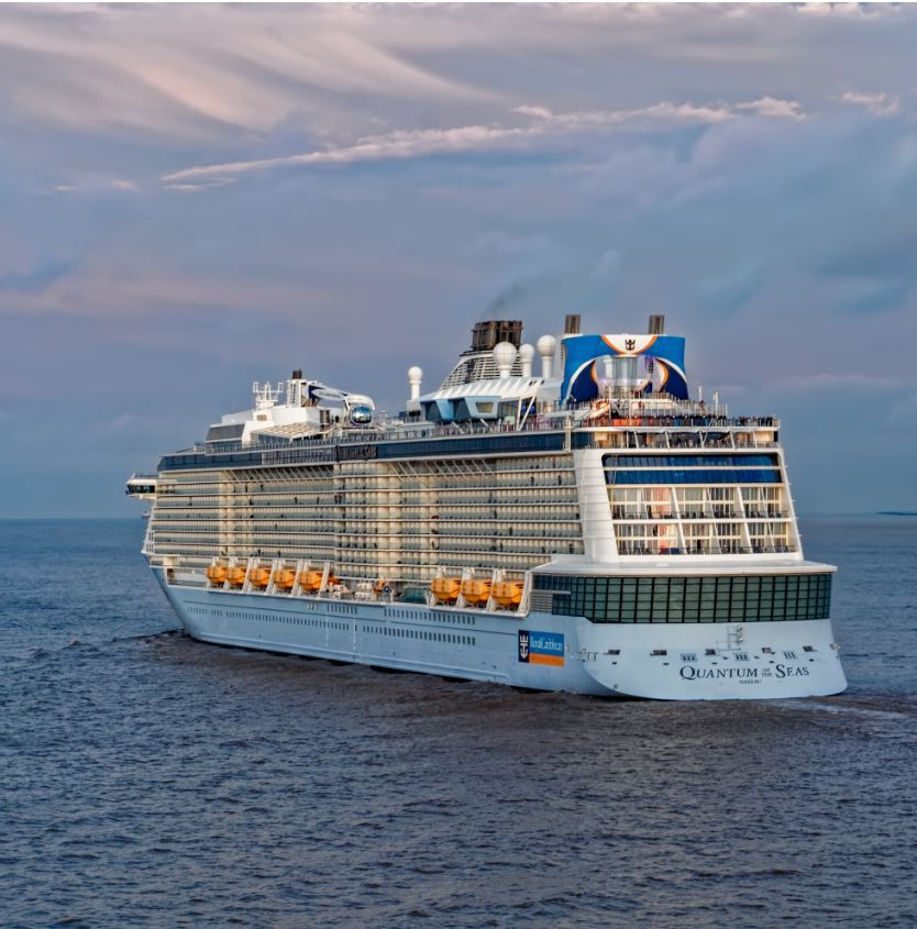 ROYAL CARIBBEAN's first cruise ship to resume operations