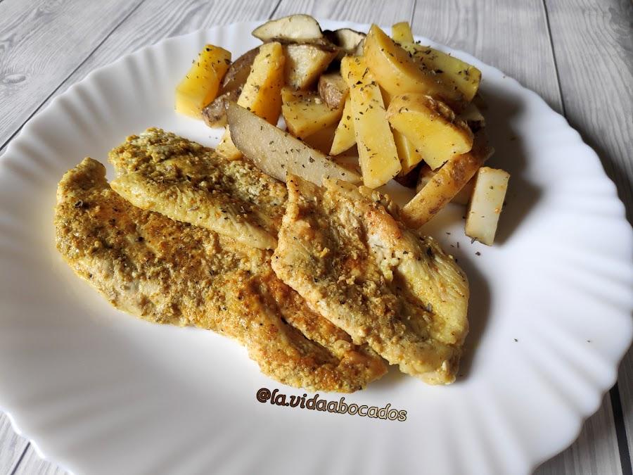marinado de limón y curry