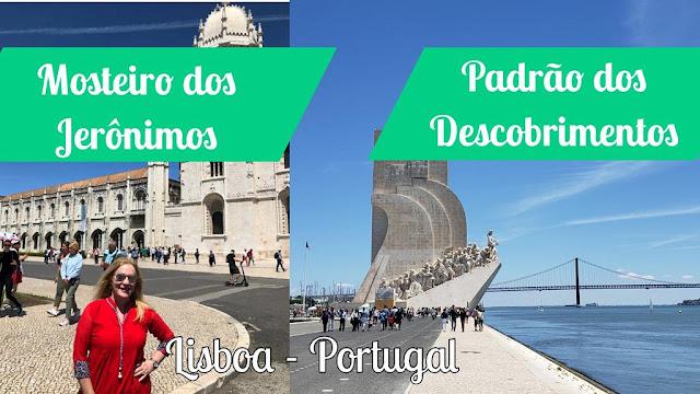 Mosteiro dos Jerônimos e o Padrão dos Descobrimentos em Lisboa Portugal