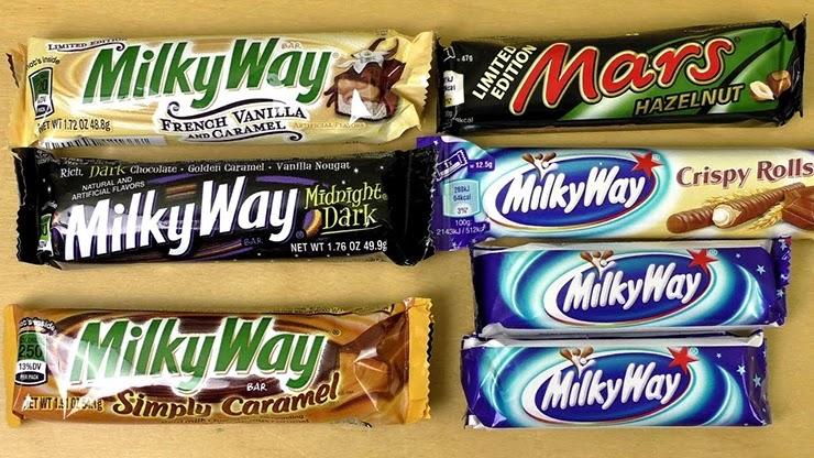 Milky Way успех компании Марс