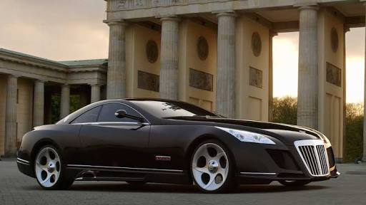 Most Expensive cars - Mercedes Maybach Excelero