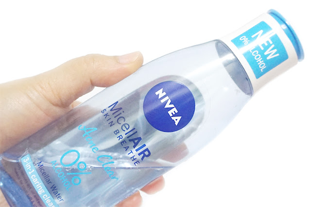 Nivea Acne Clear Micellar Water 0% Alcohol 3-in-1 Caring Cleanser