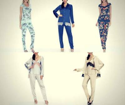 Marca de Pijamas Femininos de Luxo Fruit De La Passion