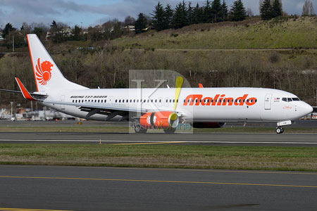 Pesawat Malindo Air patah balik akibat cuaca buruk