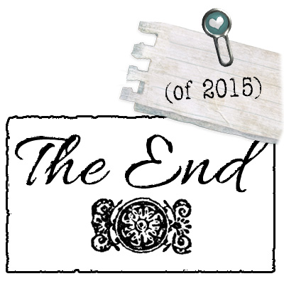 The End. (of 2015)