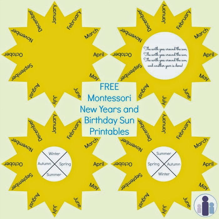Telling Time with Free Printables  Resources for the Montessori