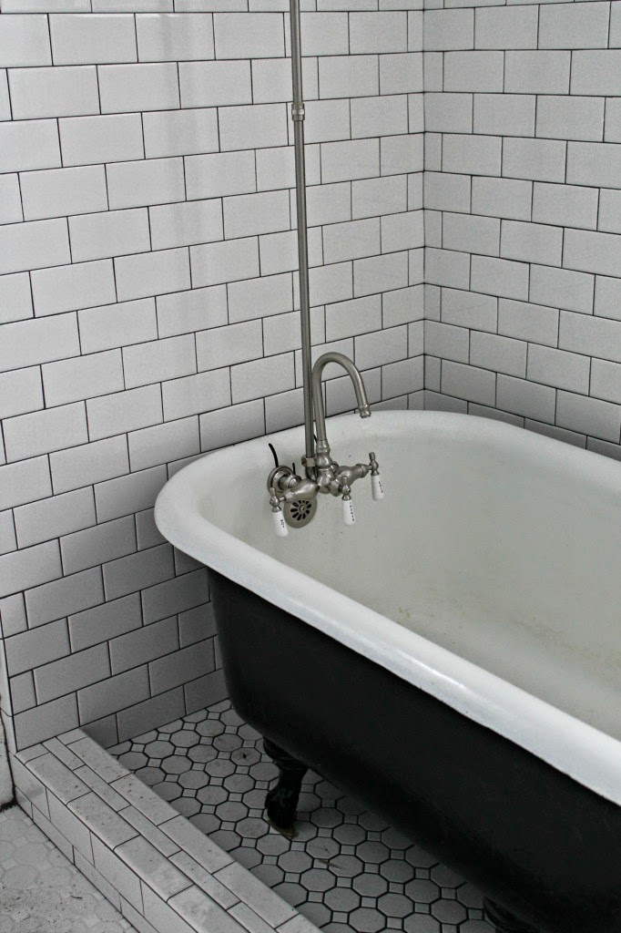 refinished vintage bath tub