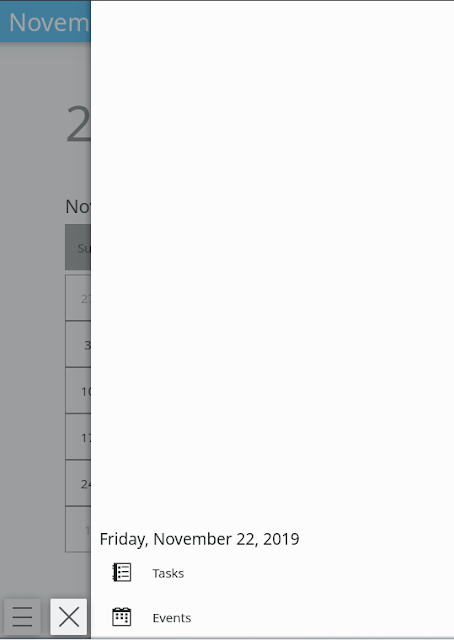 kde-mobile-calendar-drawer