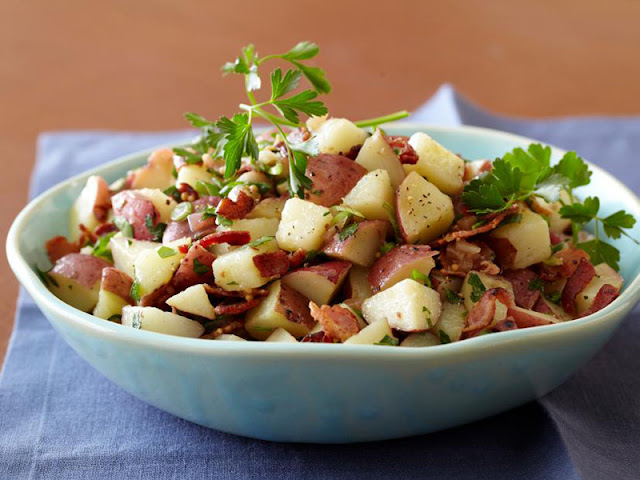 Comer batata na Alemanha